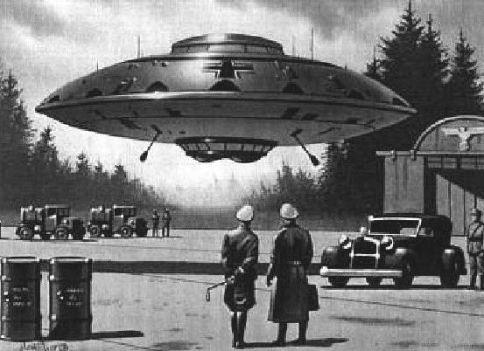 Nazi's waren aan het einde van WWII al in het bezit van anti-zwaartekrachttechnologie.
