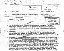 Voorheen geheime overheidsdocumenten onthullen dat Hitler na zijn geveinsde dood in Zuid-Amerika was ondergedoken.